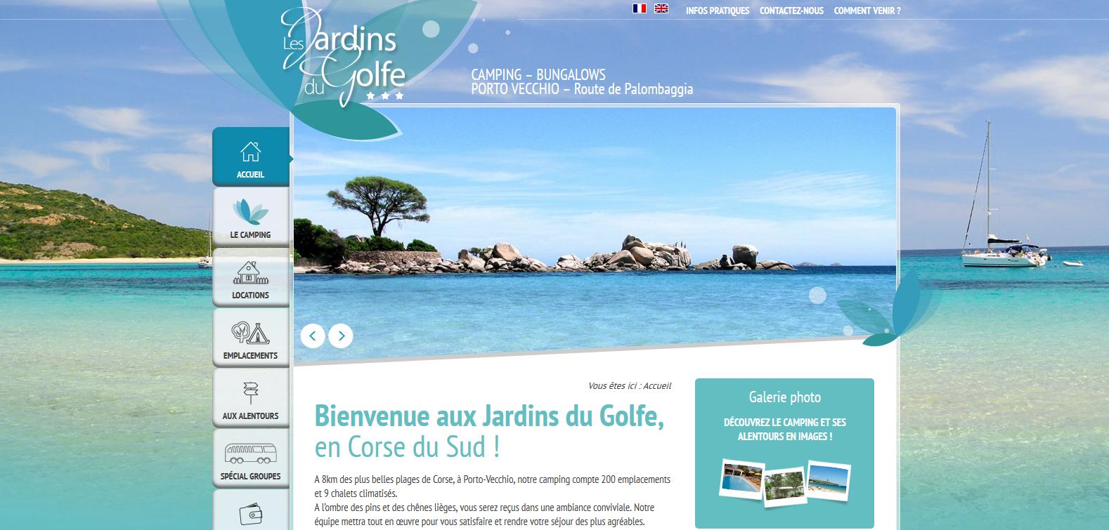Les jardins du golfe trouvez le meilleur camping corse - Les jardins du golfe porto vecchio ...